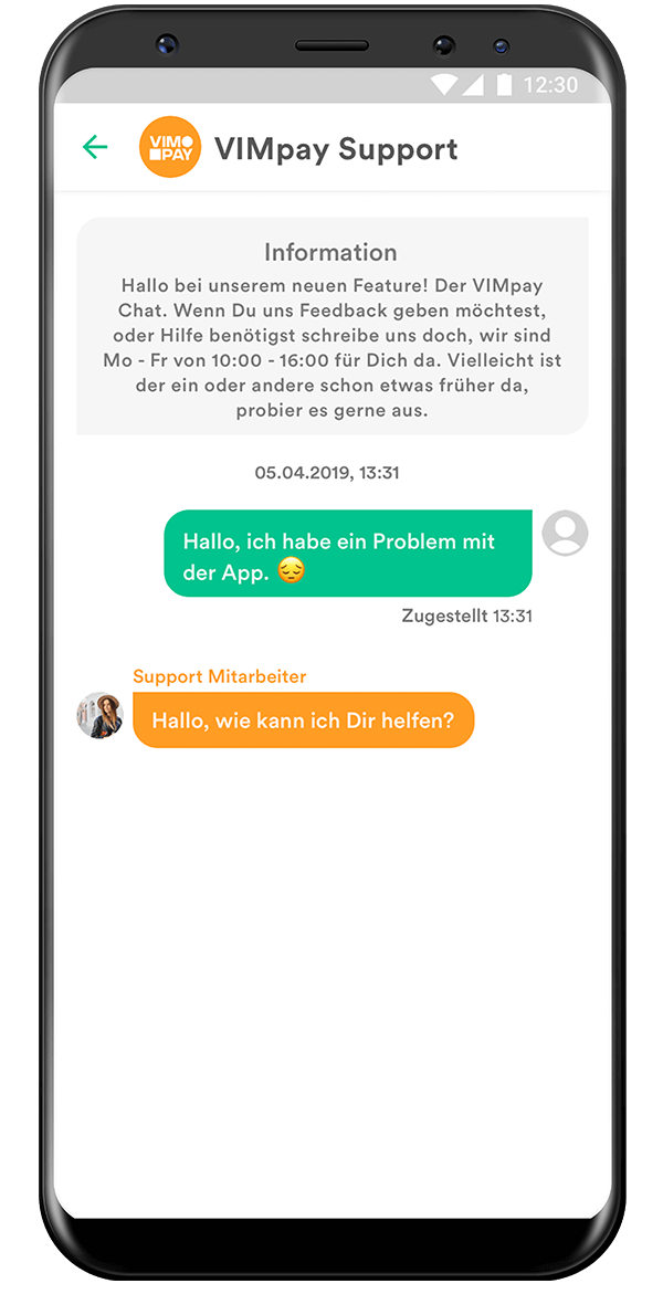 VIMpay Chat Android